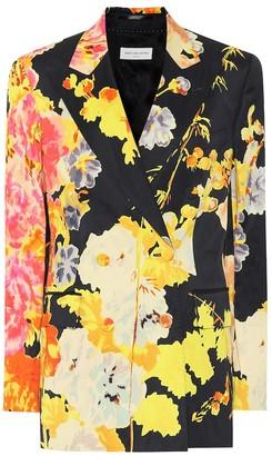 Dries Van Noten Floral blazer