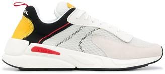 Diesel Mesh-Panelled Sneakers