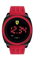 Ferrari Men's 830228 Aerodinamico Digital Display Red Watch