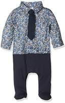 Mamas and Papas Baby Boys' MK Lib Shirt & Tie Aio Bodysuit,3-6 Months