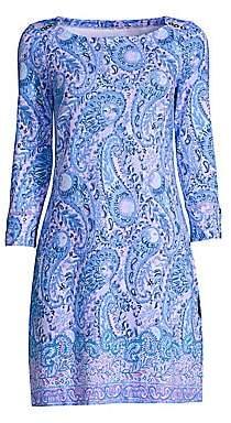 Lilly Pulitzer Women's Sophie UPF 50+ Paisley Shift Dress