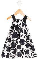 Christian Dior Girls' Sleeveless Floral Print Dress w/ Tags