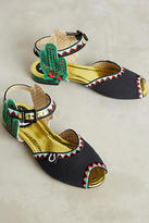 Miss L Fire Serape Sandals