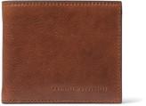 Brunello Cucinelli - Textured-leather Billfold Wallet