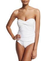 Letarte Essentials Bandeau-Top One-Piece Swimsuit