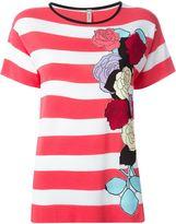 Antonio Marras striped shortsleeved knit top