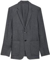 Dawson Wool-Blend Single-Breasted Jacket