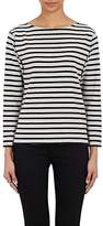 Saint Laurent Women's Striped Bateau-Neck Top