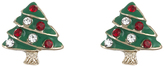 Accessorize Christmas Tree Stud Earrings