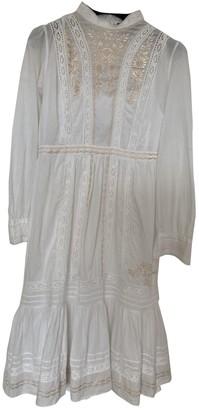 Needle & Thread White Cotton Dress for Women