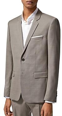 The Kooples Zig Zag Wool Suit Jacket