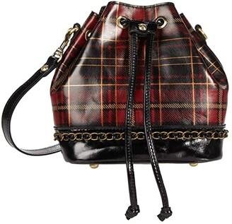 Patricia Nash Civetta Crossbody (Red Tartan) Handbags