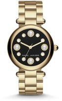 Marc Jacobs Dotty Goldtone Stainless Steel Bracelet Watch