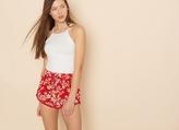 Garage Soft Shorts With Fringe
