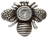 Femme Metale Jewelry Bumble Bling Ring Clear