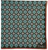Drakes Drake's Men's Medallion-Pattern Pocket Square