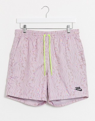 Nike Festival shorts in dusty purple