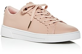 Ted Baker Women's Tillys Scalloped Low-Top Sneakers