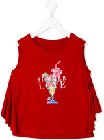 Lapin House - Love blouse - kids - Spandex/Elastane/Rayon - 6 yrs