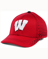 Top of the World Wisconsin Badgers Fade Stretch Cap