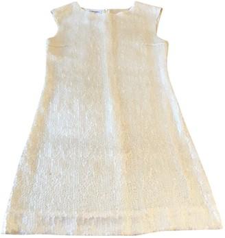 Chanel White Polyester Dresses