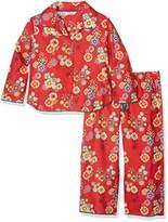 Cyberjammies Girl's Santa Claus IS Coming to Town Pyjama Set