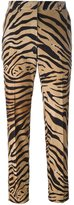Alberta Ferretti zebra print trousers