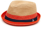 Original Penguin Hope Straw Fedora