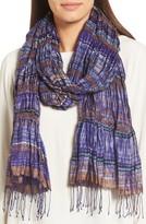 Eileen Fisher Women's Puckered Silk Blend Scarf