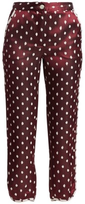 Rag & Bone Emery Polka Dot Pants