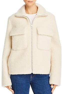 Helmut Lang Teddy Bomber Jacket