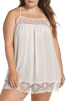 Jonquil Plus Size Women's In Bloom By Chiffon Chemise