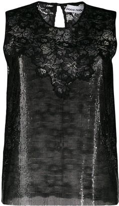 Paco Rabanne Chainmail Lace Vest