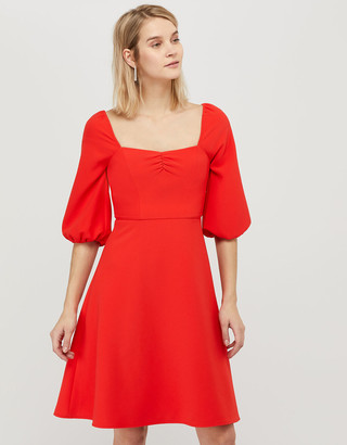 Under Armour Sarah Sustainable Square Neck Dress Red