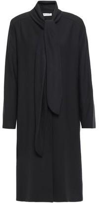 Masscob Clemens Tie-neck Gabardine Coat