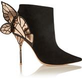 Sophia Webster Chiara Suede Ankle Boots - Black