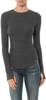 LnA Sloane Long Sleeve Rib Tee