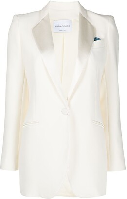 Hebe Studio The Smoking single-breasted blazer