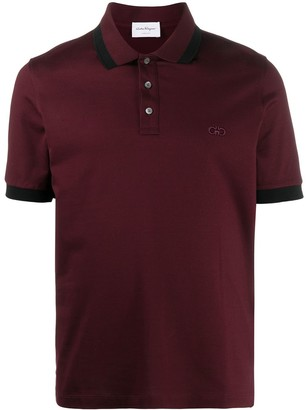 Salvatore Ferragamo Gancini short-sleeve polo shirt