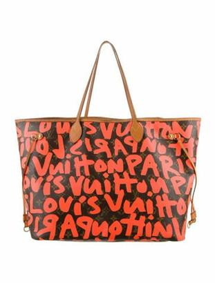 Louis Vuitton Monogram Graffiti Neverfull GM Neon