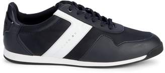 HUGO BOSS Colorblock Lace-Up Sneakers