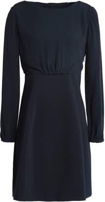 Claudie Pierlot Cutout Crepe Mini Dress