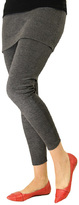 Magid Dark Gray Skirted Leggings - Plus Too