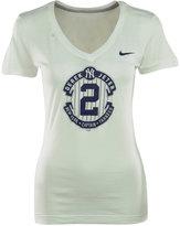 Nike Women's Short-Sleeve Derek Jeter Commemorative Logo T-Shirt