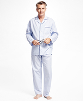 Brooks Brothers Alternating Stripe Pajamas