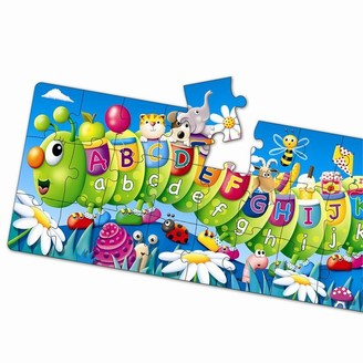 The Learning Journey Long & Tall Puzzle ABC Caterpillar 51 Pieces
