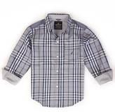Nautica Little Boys' Classic Plaid Shirt (2T-7)