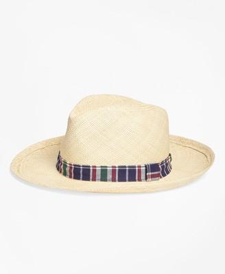 Brooks Brothers Straw Panama Hat