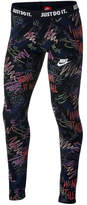 Nike Sportswear Printed Leggings, Big Girls