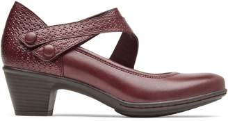 Cobb Hill Kailyn Asymmetrical Leather Mary Jane Shoes